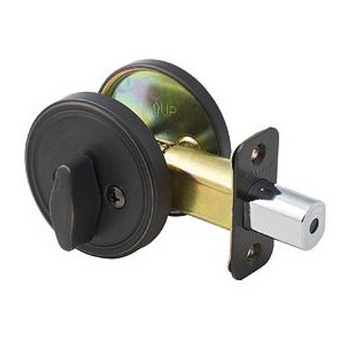Master lock DSO0512P Deadbolt, One Sided Aged Bronze