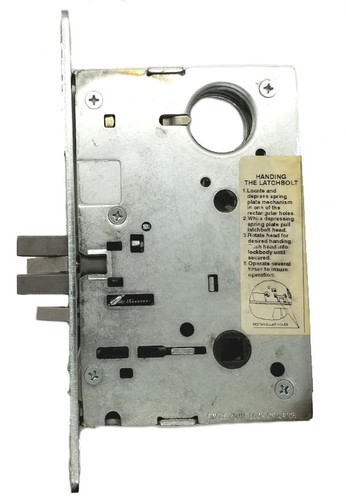 Mortise Lock Body, Yale LBDY8807FL for Lever Trim
