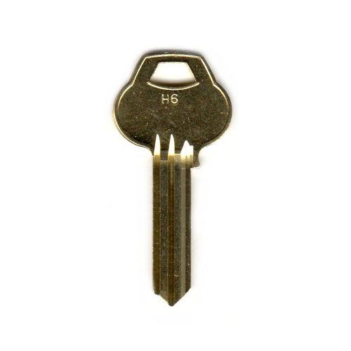 Key blank, Corbin Russwin H6-6PIN-10