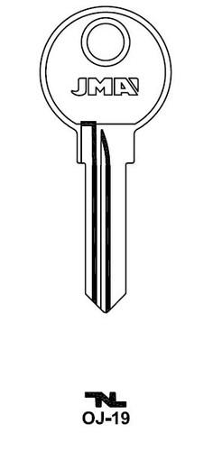 JMA OJ-19 Key Blank