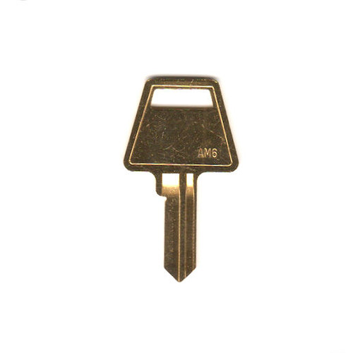 JET AM6 Key Blank for American Padlock, 5-Pin