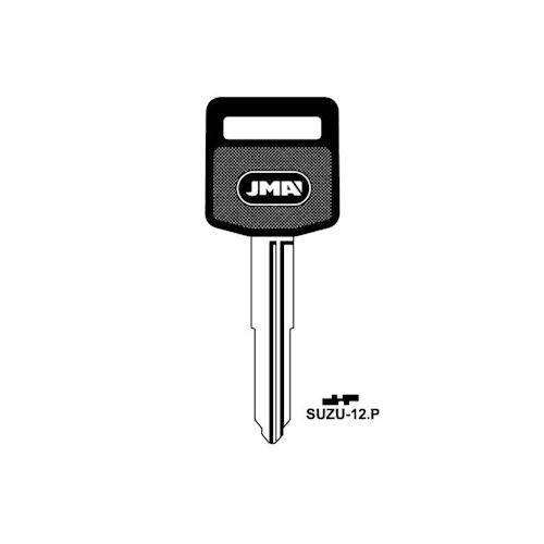 Key blank, JMA SUZU-12.P Key blank, Suzuki  (RH)