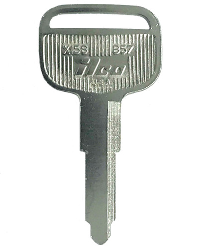Ilco B57 Key Blank,  for Isuzu X158