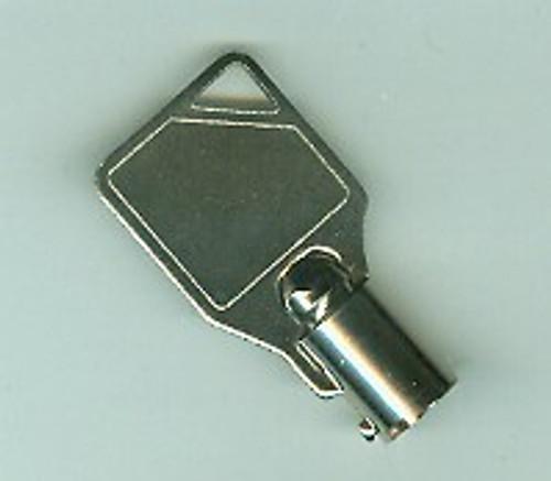Cut Key, Tubular for Plunger Lock 51133