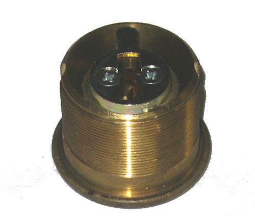 Mortise Cylinder, Ilco 7165KS2-05 1 inch Kwikset US5 (Keyed Alike in Pairs)