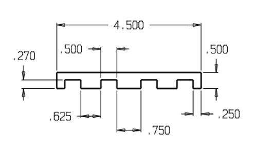 Don-Jo HS-050 Hinge Shim Filler, .060 16 Gauge Steel, Prime Coat