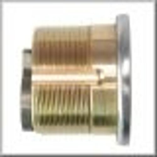 Mortise Cylinder, GMS M118-SCE 1-1/8 Schalge E 10B, Keyed Alike (2-Pack)