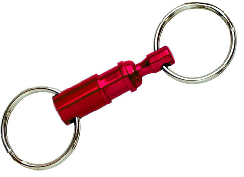 RED - 70601 Quick Release Key Ring