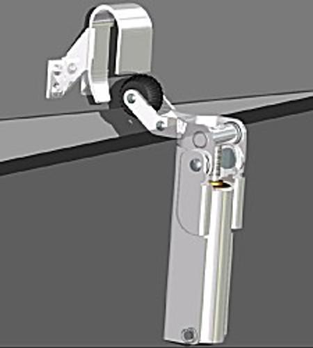 Door Check, #1300, 1011 Hook (Chrome)