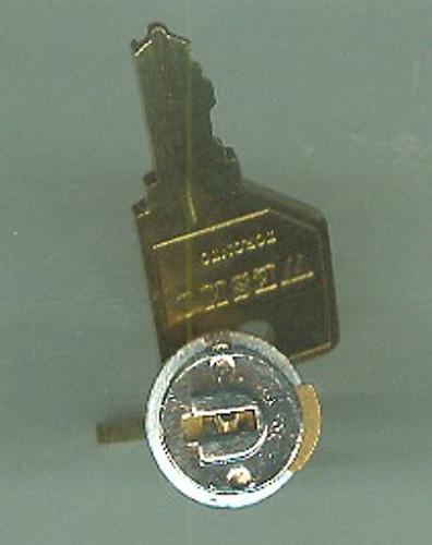 Key Plug KA 105, Nickel Finish Pundra 101-330 Series