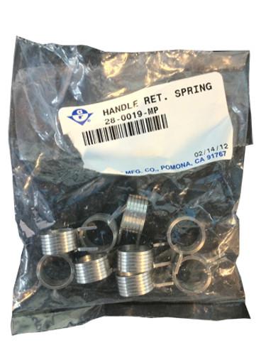 Adams Rite 28-0019-MP Handle Return Spring (10-Pack)
