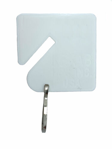 Square Notch Tags, HPC H-PLT-20 For KEKAB (20-Pack)