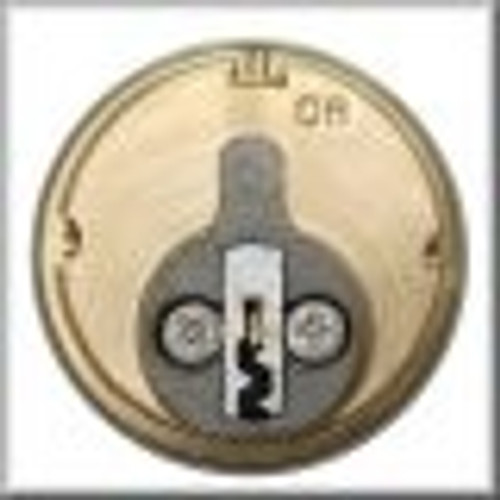 Mortise Cylinder, 1in Kwikset KW1, M100-KW-26D, Keyed Different