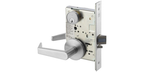 Mortise Lock, Yale AUR 8807 26D L/C Entry Function