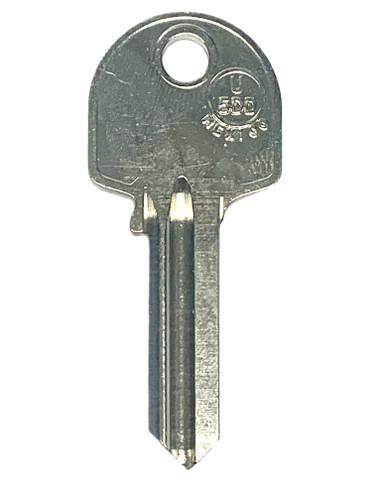 Key blank, JMA U5DD Universal UL050 NP BR