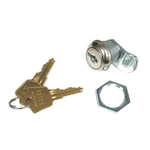 "ESP ULR-437STD Q520 7/16"" Fixed Cam Lock, Keyed Alike ES203"