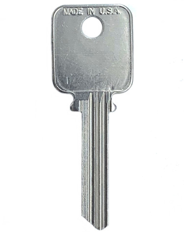Ilco A1638 Key Blank, for Some (6-Pin) Medeco