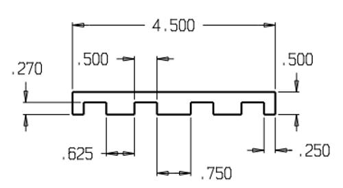 Don-Jo HS-080 Hinge Shim Filler, .090 13 Gauge Steel, Prime Coat