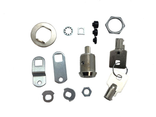 CompX Fort MFW1078 KA 27379 Cam Lock, 7/8 Tubular Keyed Alike 27379