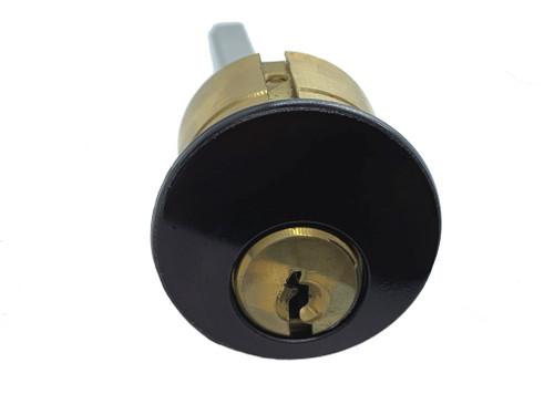 Rim Cylinder, GMS R118-SC 10B, Schlage C, Keyed Alike (2-Pack)