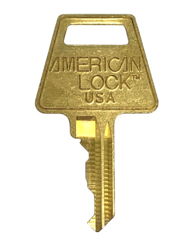 American Lock Restricted R2 5-Pin Keys, Factory Cut