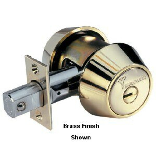 Mul-T-Lock 248BP-HD2-26 Hercular D/C Deadbolt Brushed Chrome, Keyed Alike