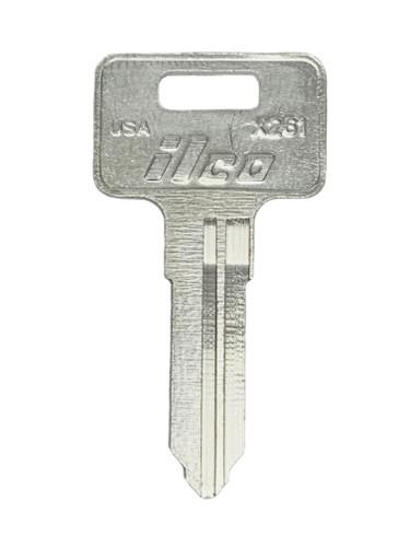 Key blank, Ilco X261 Kawasaki ATV