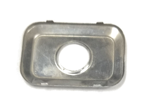 ASP P-42-205 Chrome Door Lock Face Cap for Lincoln Continental 1985-87, Sold Each.