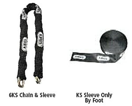 8KS Chain Sleeve, Abus 00706, Sold by the foot
