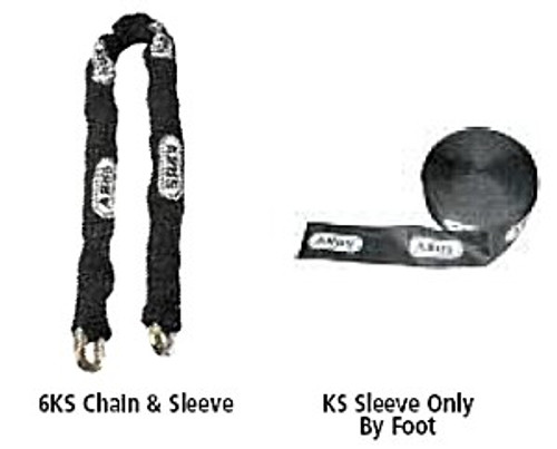 10KS Chain Sleeve, Abus 00707 by the foot