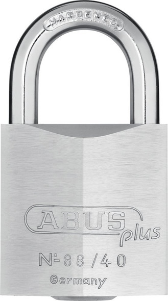 Abus 88/40 KD Padlock 7-Disc Plus Cylinder, Keyed Different
