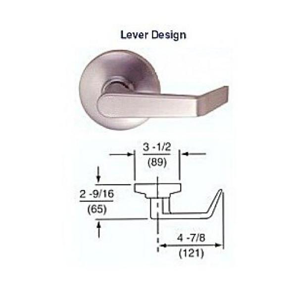 Trim, Lever for Exit Device PAS30L 26D