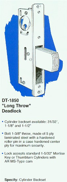 Deadlock, 1 1/8 DU