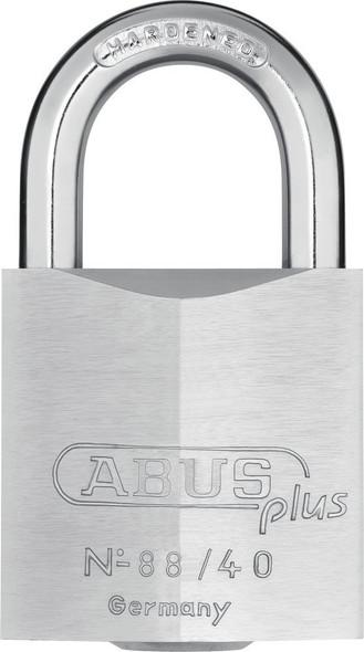 Abus 88/40KA 1216654 Padlock 7-Disc Plus Cylinder, Keyed Alike 1216654