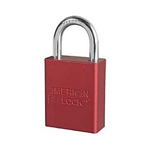 American Lock A1105 KD Red Padlock, Keyed Different