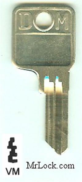 Key blank, DOM VM