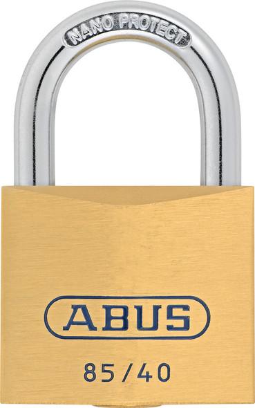 Abus 85/40 KA 0658 Brass Body Padlock, Keyed Alike 0648