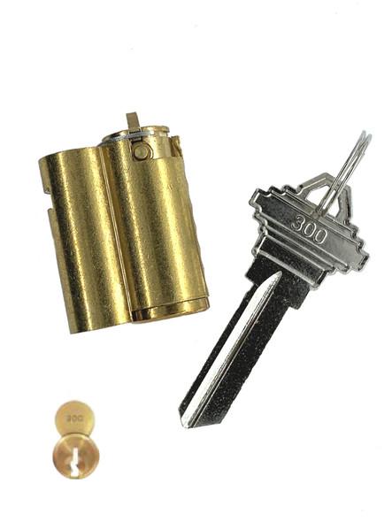 ABUS 8302-300 Cylinder for 83/45 Padlock SCH Keyway (Zero Bitted)