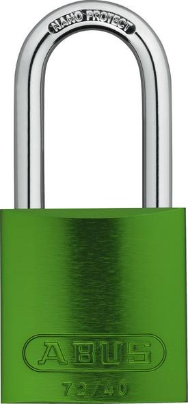 Abus 72HB/40-40 Green Padlock, Keyed Different