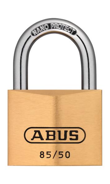 Abus 85/50 KA 0954 Brass Body Padlock, Keyed Alike 0954
