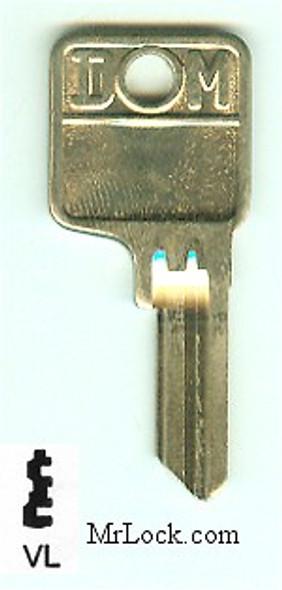 Key blank, DOM VL