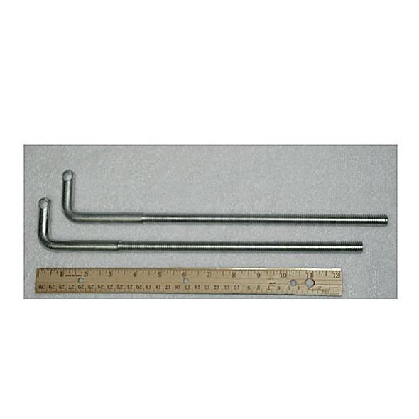 "Exit Security SB-P1-1015 Extra Long L bolts ~12"" (Pair)"