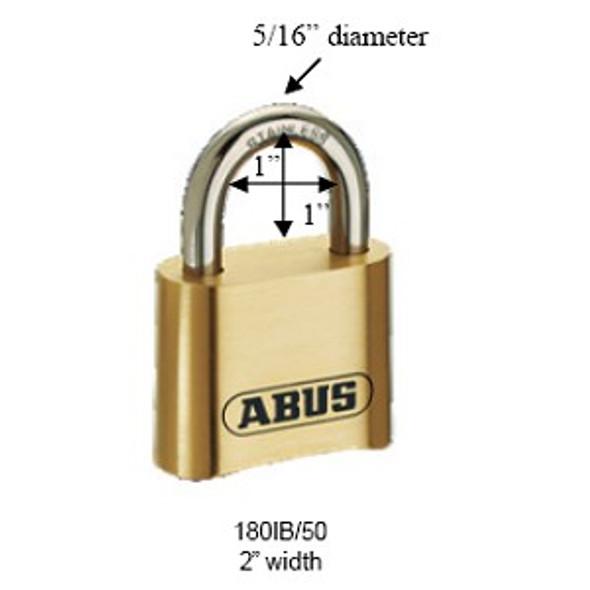 Padlock, Combo 180IB/50 10305 Mr Lock, Inc.