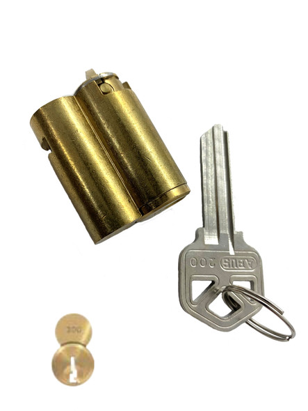 ABUS 8302-200 Cylinder for 83/45 Kwikset Keyway (Zero Bitted)