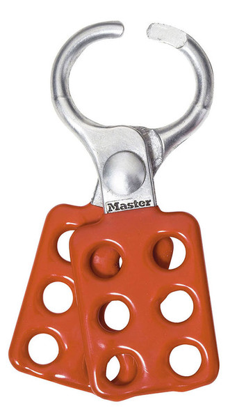Master Lock 416 Lockout Hasp, Aluminum Safety