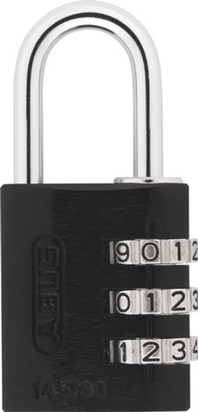 Abus 145/30 Black Combination Padlock