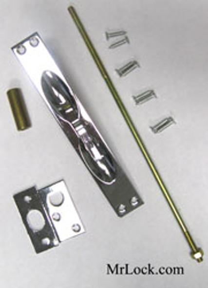 Flush Bolt, Mortise Cal-Royal MF6341 US26 (Sold Each)