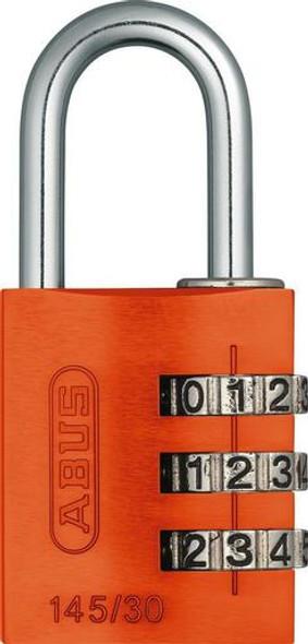 Abus 145/30 Orange Combination Padlock