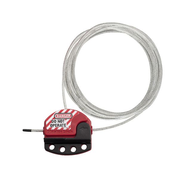 Master Lock S806 Cable Lockout, with 6 foot cable