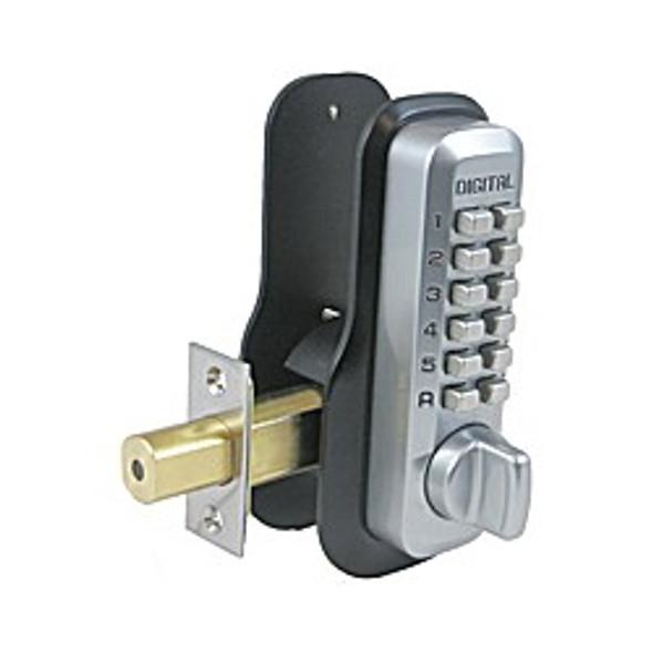 Combination Lock Deadbolt, Lockey M210EZ SCMG